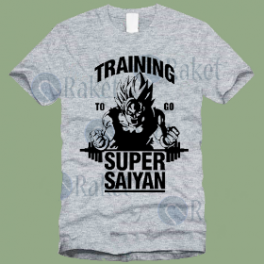 Koszulka Saiyan Training Dragon Ball